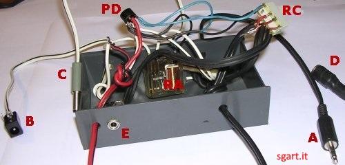 Schema Elettrico Jack 3 5 : Commutatore casse cuffie