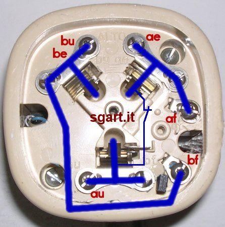 Come collegare le prese telefoniche serie e parallelo - Telefoni a parete ...