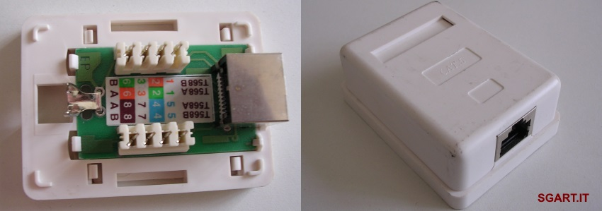 Schema Cablaggio Cavo Ethernet : Schema collegamento cavo ethernet incrociato crimpare