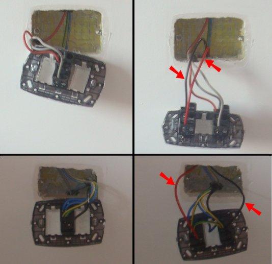 Schema Elettrico Una Lampada Tre Interruttori : Schema elettrico per interruttore deviatore